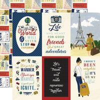 Echo Park Scenic Route 4 x 6 Journaling Cards