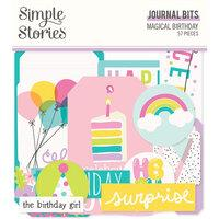 Simple Stories Magical Birthday Journal Bits