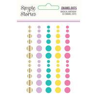 Simple Stories Magical Birthday Enamel Dots