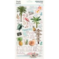 Simple Stories Simple Vintage Coastal Chipboard Stickers