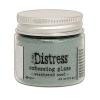 Tim Holtz Distress Embossing Glaze Weathered Wood