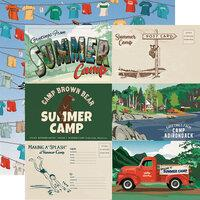 Carta Bella Summer Camp 6 x 4 Journaling Cards
