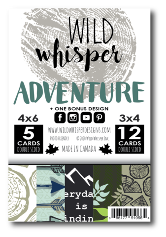Wild Whisper Adventure Card pack