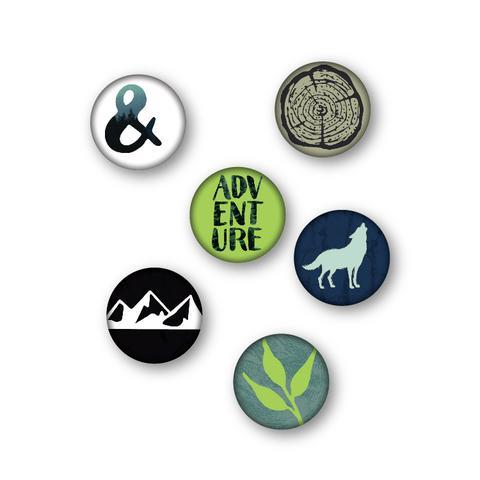 Wild Whisper Adventure Flair buttons