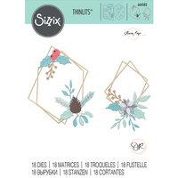 Sizzix Thinlits Geometric Winter Frames