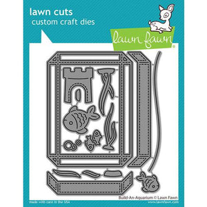 Lawn Fawn Build An Aquarium Die Set