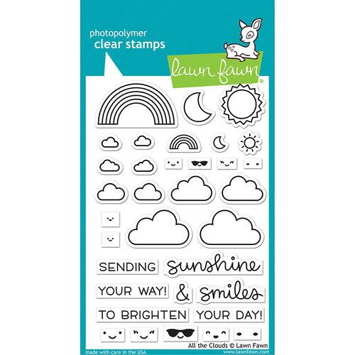 Lawn Fawn All The Clouds Stamp Set