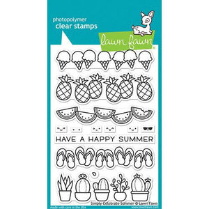 Lawn Fawn Celebrate Summer Stamp Set