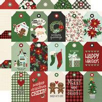 Simple Stories Jingle All The Way Tags