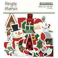 Simple Stories Jingle All The Way Bits & Pieces