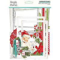 Simple Stories Simple Vintage North Pole Chipboard Frames