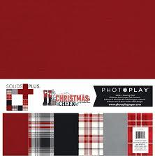 Photoplay Christmas Cheer Solids Plus Paper Kit