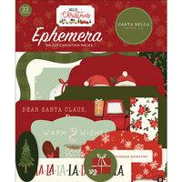 Carta Bella Hello Christmas Ephemera Pack