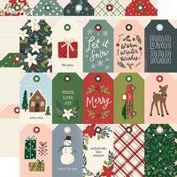 Simple Stories Winter Cottage Tags