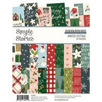 Simple Stories Winter Cottage 6x8 Paper Pad