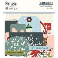 Simple Stories Winter Cottage Journal Bits