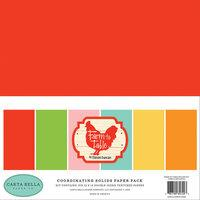 Carta Bella Farm To Table Coordinating Solids Paper Pack
