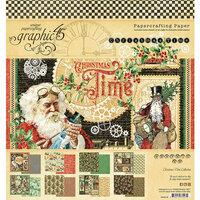 Graphic 45 Christmas Time 8x8 Paper Pad