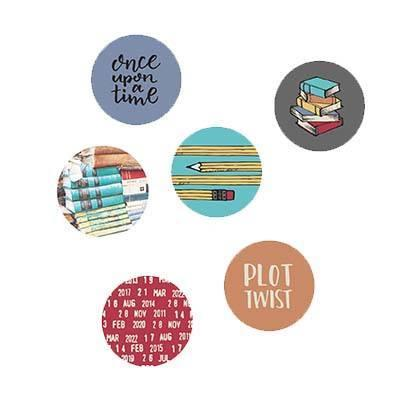 Wild Whisper One More Chapter Flair Buttons