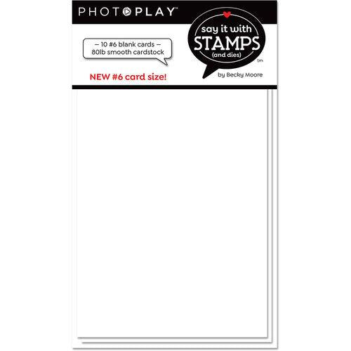 Photoplay Say It With Stamps #6 Blank Cards