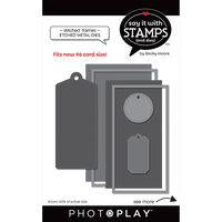 Photoplay Say It With Stamps Stitched Frames Dies