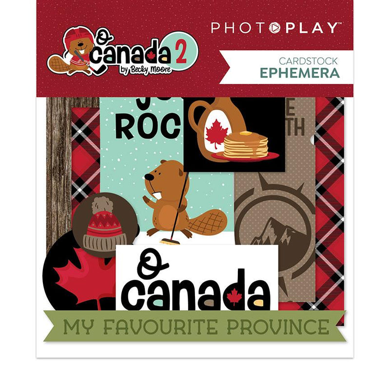 Photoplay O Canada 2 Cardstock Ephemera