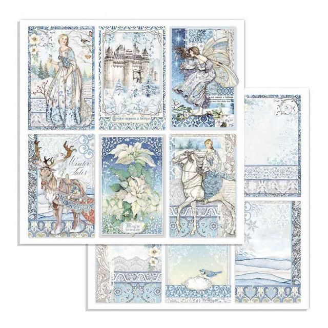 Stamperia Winter Tales SBB722