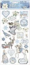 Stamperia Winter Tales Chipboard