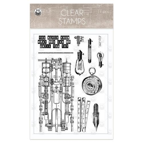 P13 Free Spirit Clear Stamps