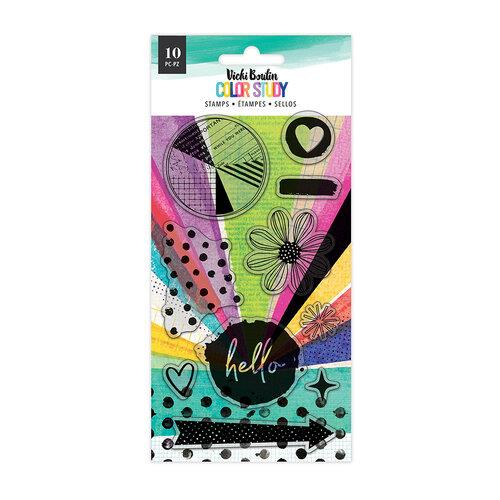 Vicki Boutin Color Study Hello Stamp Set