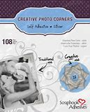Scrapbook Adhesives Creative Photo Corners Silver