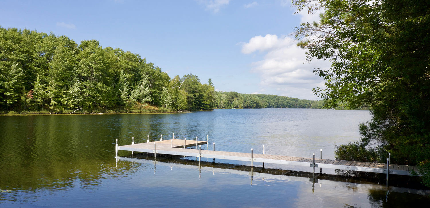 Dock Package with Lake View