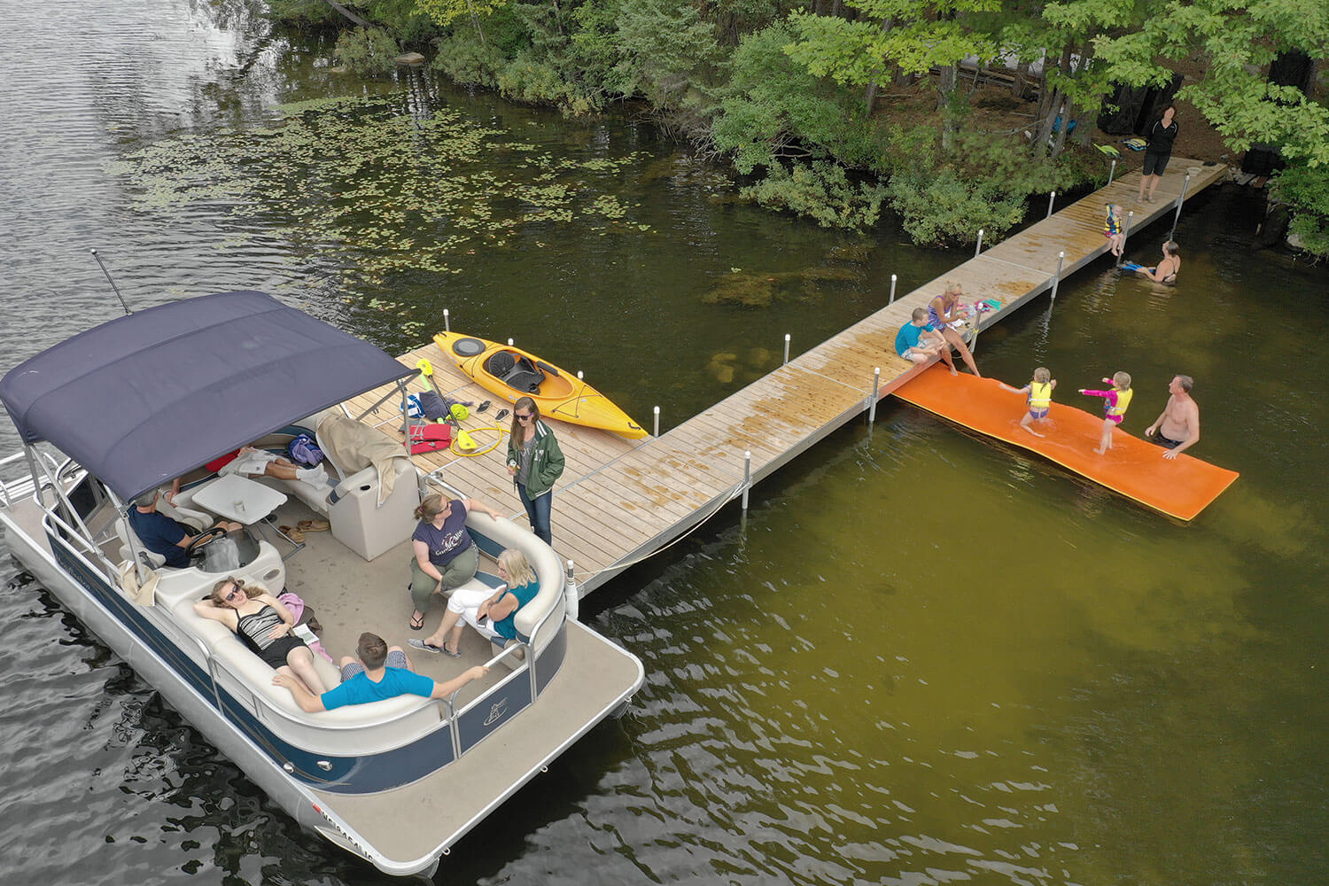 Dock Package with Pontoon