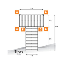 12' T-Style Cedar Complete Dock Package : Tommy Docks - Boat Dock Sets, Dock Hardware & Dock Accessories