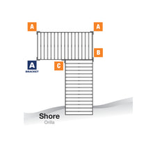 """A"" Outside Corner Bracket - Heavy Duty : Tommy Docks - Boat Dock Sets, Dock Hardware & Dock Accessories"