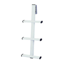 3-Step White Dive Ladder Stainless Tube w/Mounting Bracket
