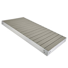 Premium Aluminum + Composite Dock Section - Ridgeway Gray : Tommy Docks - Boat Dock Sets, Dock Hardware & Dock Accessories