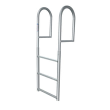"3 Rung Aluminum Ladder - Standard 2"" Wide Step"