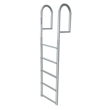 "5 Rung Aluminum Ladder - Standard 2"" Wide Step"