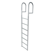 "7 Rung Aluminum Ladder - Standard 2"" Wide Step"