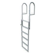 "6 Rung Aluminum Lifting Ladder - Standard 2"" Wide Step"