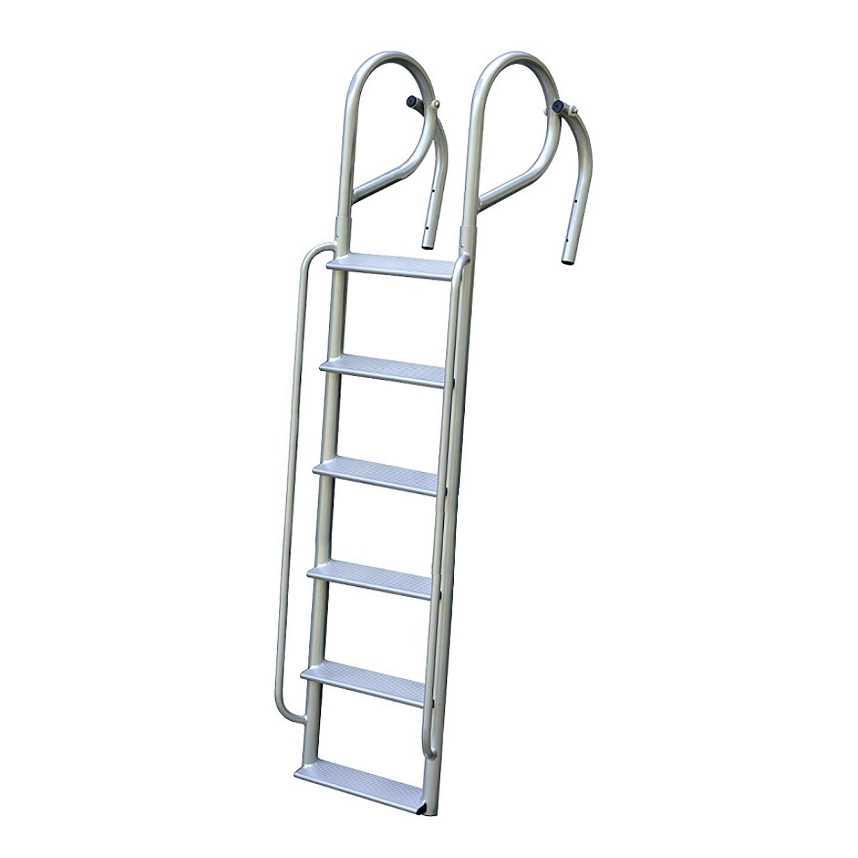 Aluminum Swing Ladder With Handrails 6 5 Wide Step 3 Lengths Avai Tommy Docks