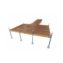 24' Platform-Style Cedar Complete Dock Package : Tommy Docks - Boat Dock Sets, Dock Hardware & Dock Accessories