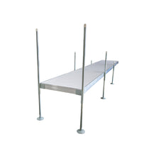 24' Straight Aluminum Frame With Aluminum Decking Platinum Series Complete Dock Package : Tommy Docks - Boat Dock Sets, Dock Hardware & Dock Accessories