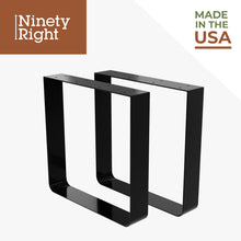 "Ninetyright 16"" Square Table Leg Bracket Set (2-Pack)  – Clear Coat : Tommy Docks - Boat Dock Sets, Dock Hardware & Dock Accessories"
