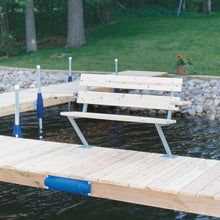 4' Cedar Bench : Tommy Docks - Boat Dock Sets, Dock Hardware & Dock Accessories
