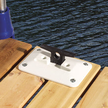 Folding Dock Cleat - White 6"