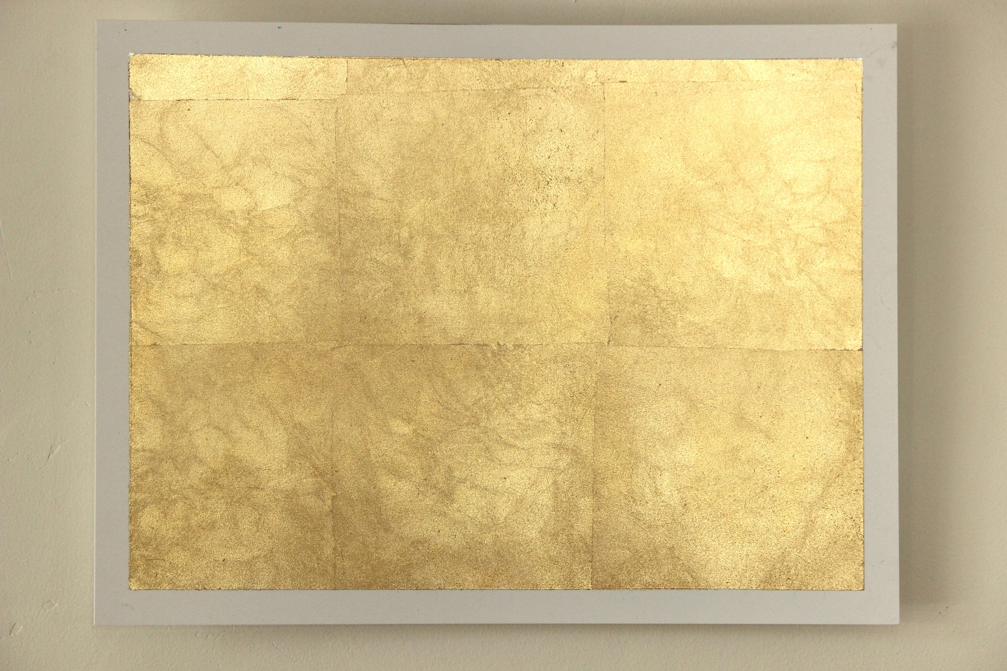 Gold Metal Wall Art