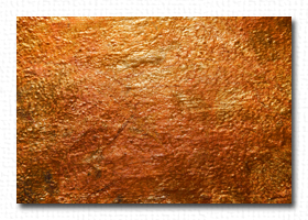 Copper Leaf Gilding
