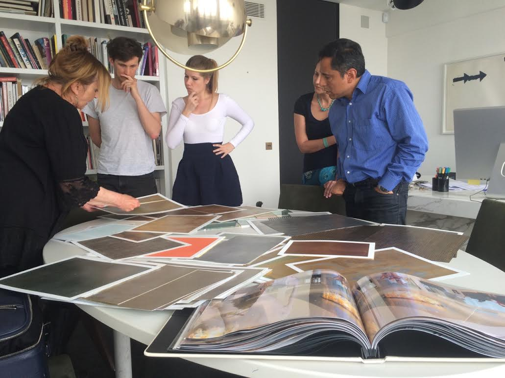 talking with interior designers in France